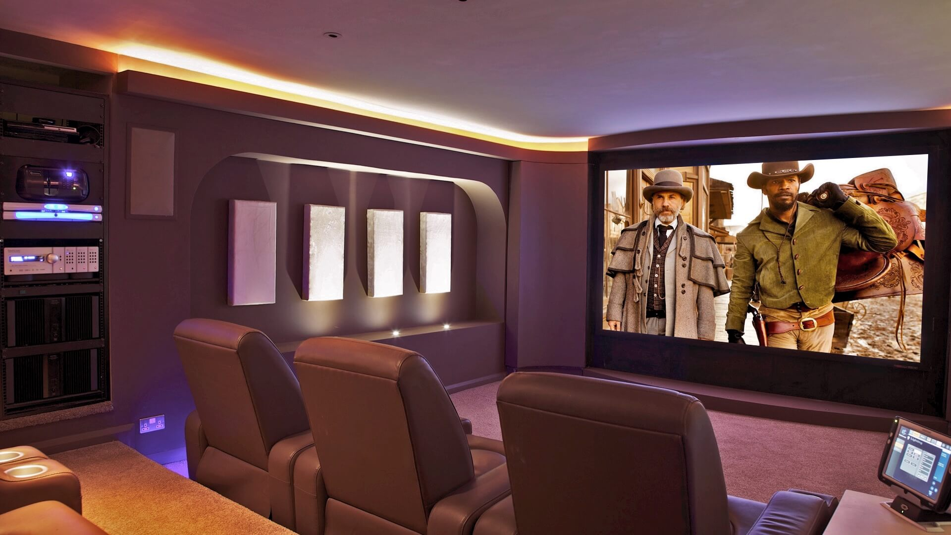 home cinemas dorset installers of cinema rooms in homes. Black Bedroom Furniture Sets. Home Design Ideas