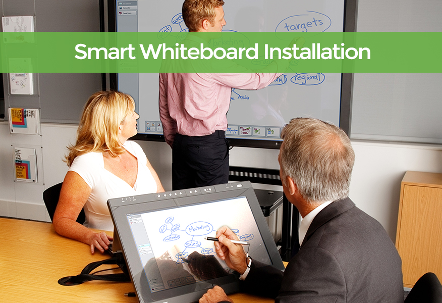 Smart Whiteboard Installation Dorset