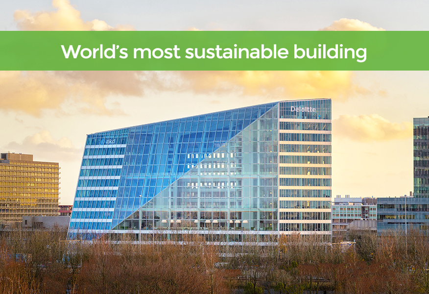 Smart office solutions - The Edge Amsterdam - PLP Architecture for Deloitte
