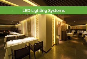 LED Lighting Systems for the UK hospitality industry