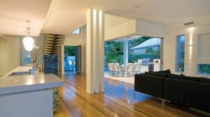 Scene from a home lighting control system by Clipsal automation