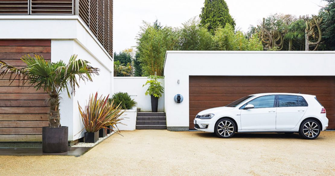 cost of charging an electric car at home and applying for a OLEV grant